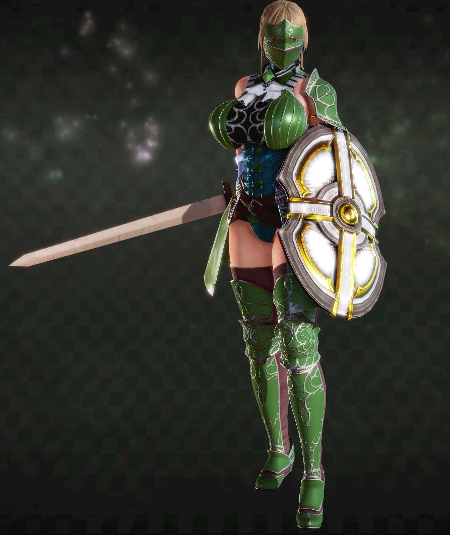 女騎士キリッ
